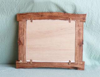 八ヶ岳の木製品:フォトフレーム