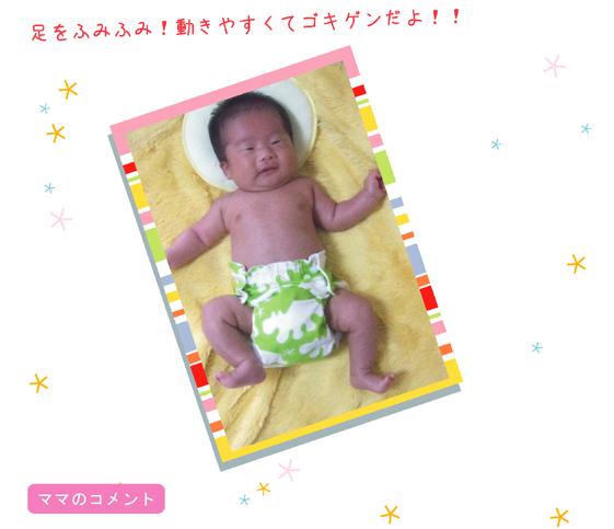きらきら赤ちゃん うちのこ 赤ちゃんモデル