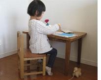 オーダーメイド木製品:子供用勉強机